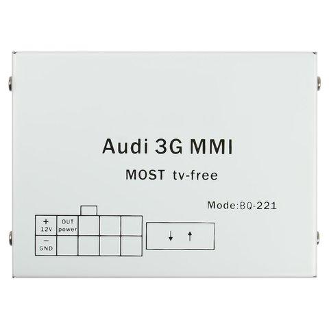 MOST-видеоинтерфейс для Audi MMI 3G+ с адаптером разблокировки видео в движении Превью 5