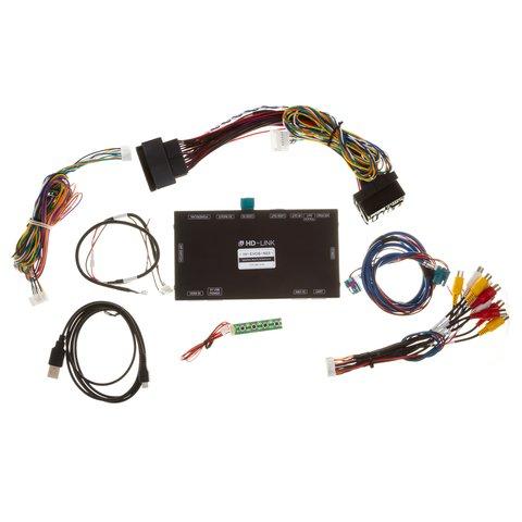 Відеоінтерфейс з HDMI для BMW NBT EVO 6 з штатним сенсорним склом Прев'ю 8