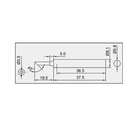 Паяльне жало Pro'sKit 5SI-131-3C Прев'ю 1