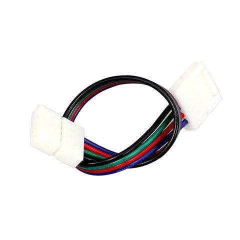 З'єднувальний кабель, 4-контактний, для світлодіодних стрічок RGB5050 WS2813, двосторонній Прев'ю 5