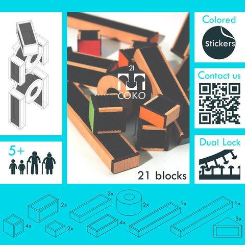 DIY Construction Set COKO Blocks 21 Preview 7