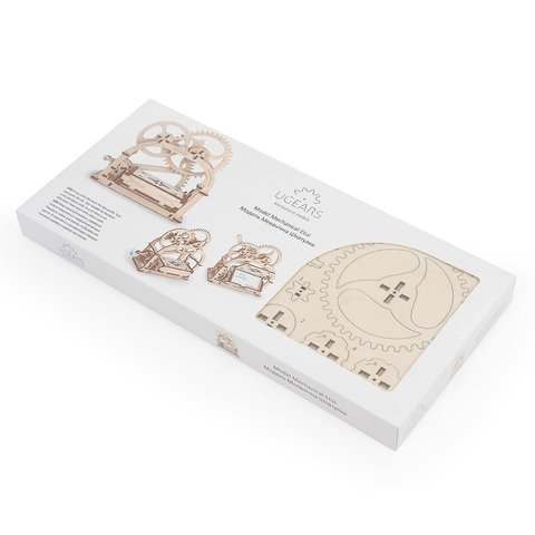 Mechanical 3D Puzzle UGEARS Business Card Holder Preview 7