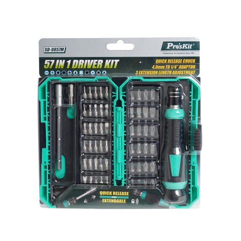Screwdriver with Bit Set Pro'sKit SD-9857M Preview 4