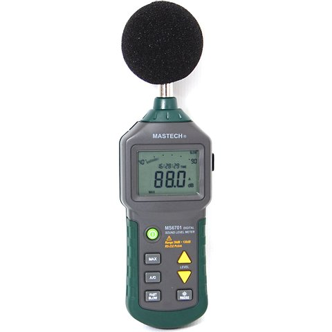 Digital Sound Level Meter MASTECH MS6701 Preview 1
